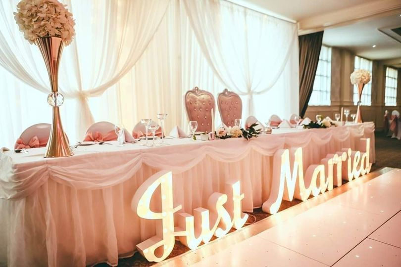 Just Married Letters