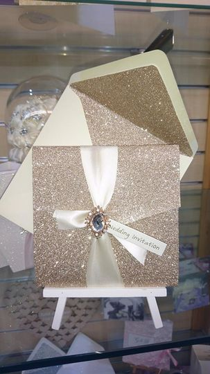 Amanda Champagne Glitter