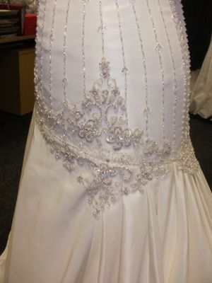 Detail in the dress