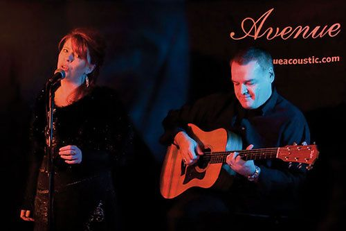 Evening performance by Avenue Acoustic Duo