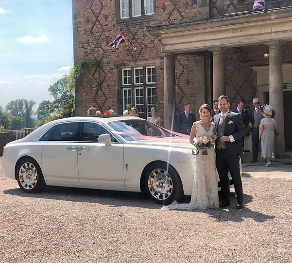 Bride and Groom with our RR