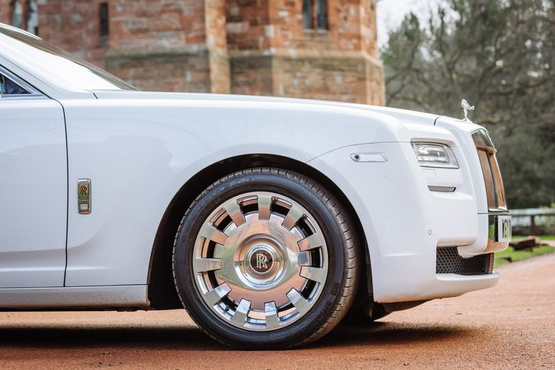 Side View of our Rolls Royce