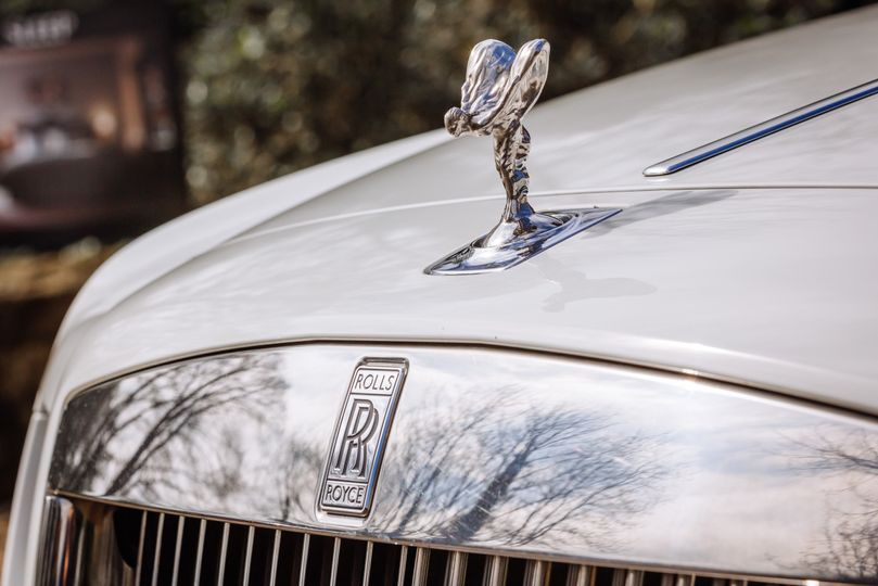 Front View of our Rolls Royce