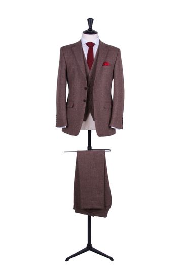 Tweed vintage suit hire