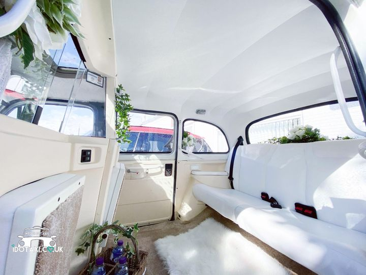 Our classic taxis interior