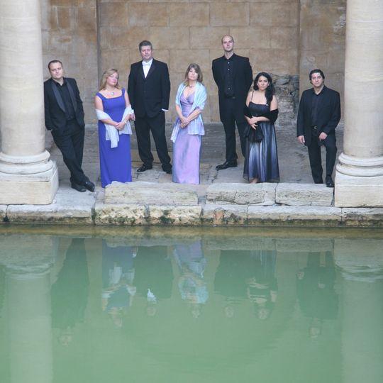 At The Roman Baths