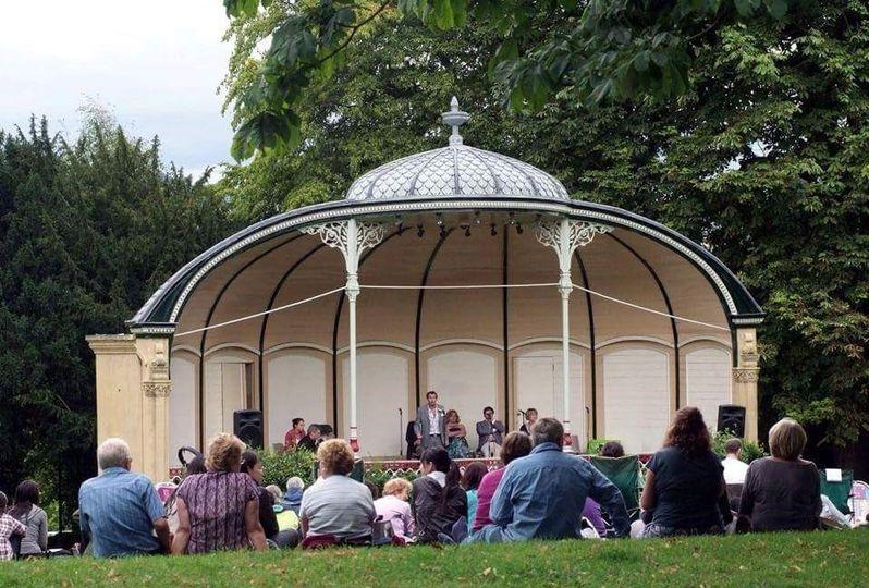 Concert in Victoria Park, Bath