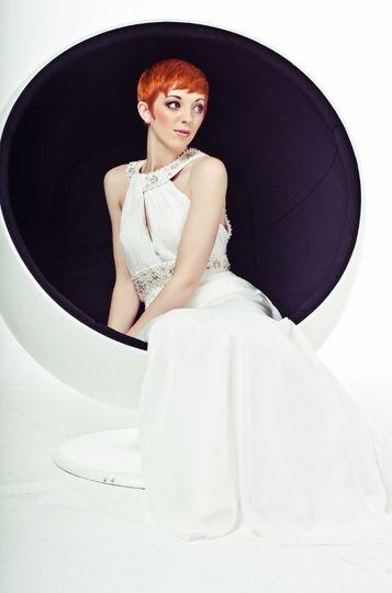 Cleopatra Wedding Dress Sittin