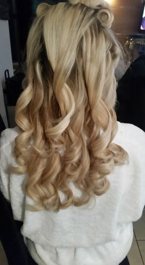 Curly blow