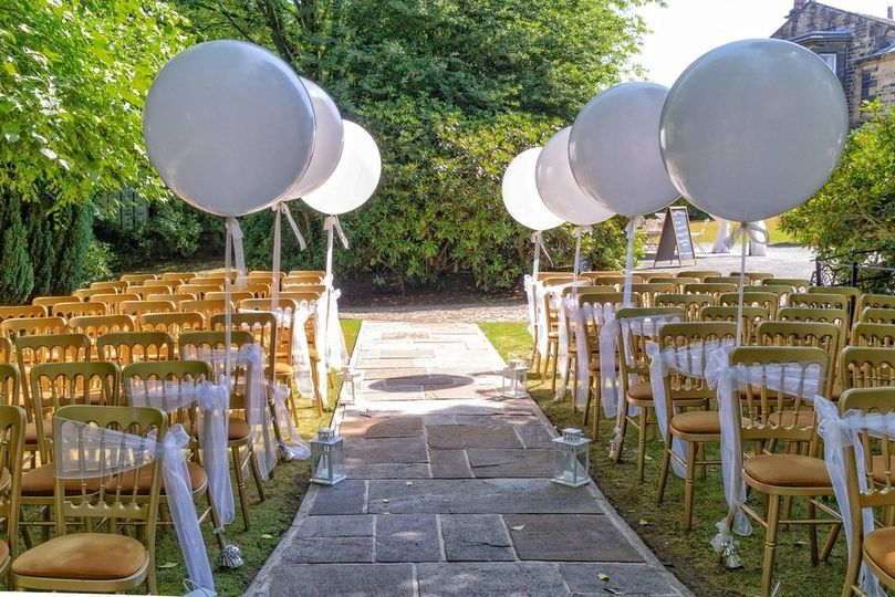Beautiful outdoor ceremonies