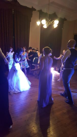 High energy on the dancefloor