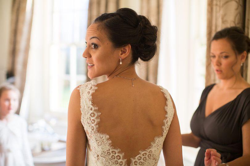 Lisa Ellis wedding hair