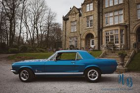 Ford Mustang Wedding Car Hire