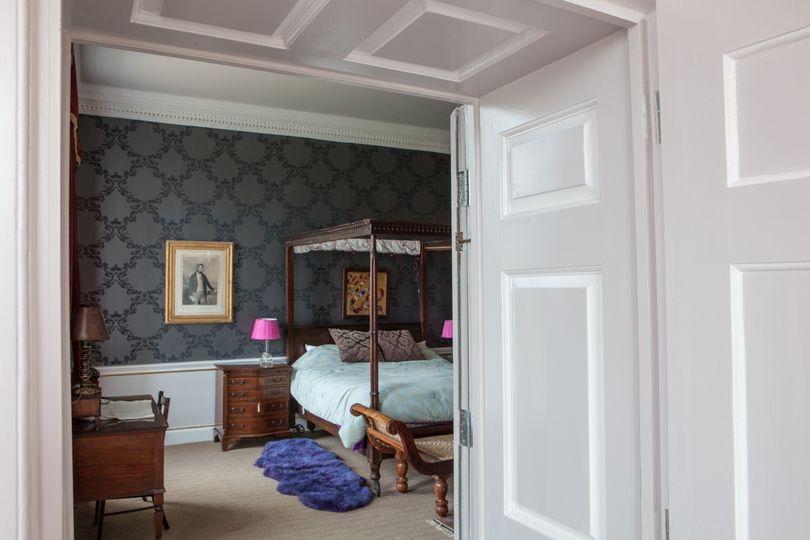 Kimberley Hall Black Bedroom