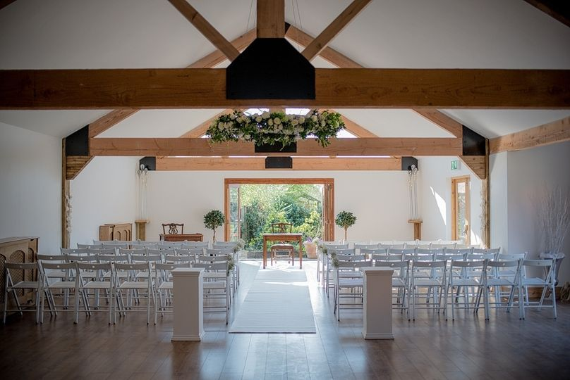 Oak Barn - Ceremony Room