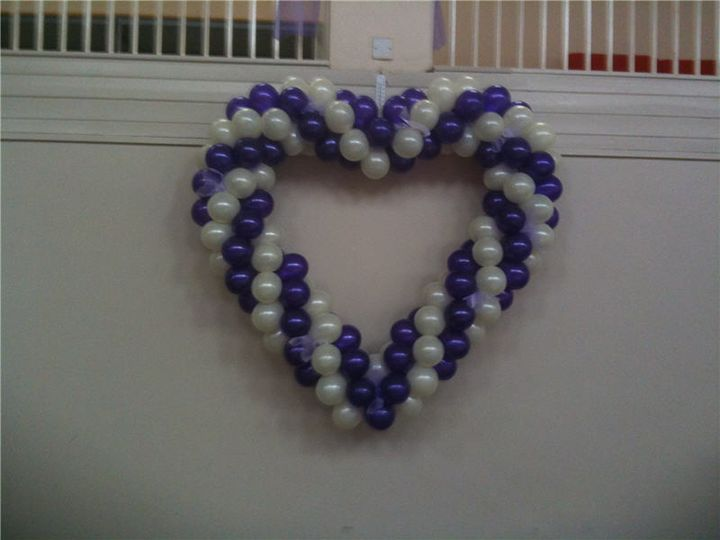 Two colour heart