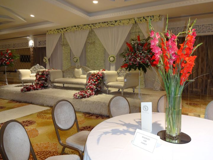Indian wedding venue styling