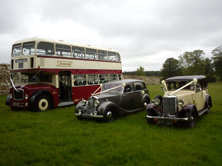Our cars with Dreadnought coaches