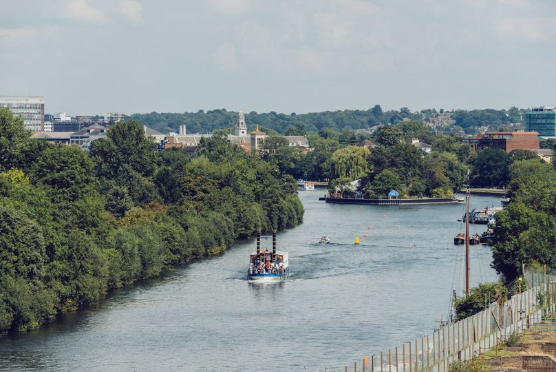 View of the River Thames