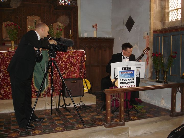 Filming for bbc restoration