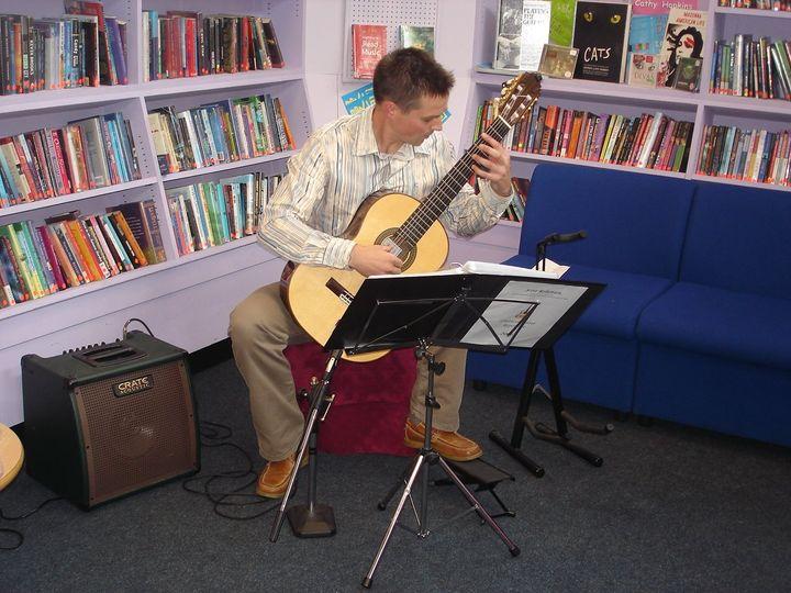 Library recital