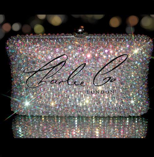 AB Crystal clutch Bag