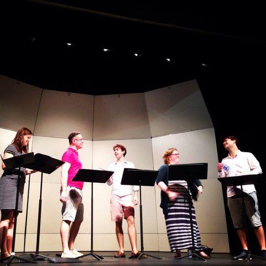 Rehearsal in Hong Kong