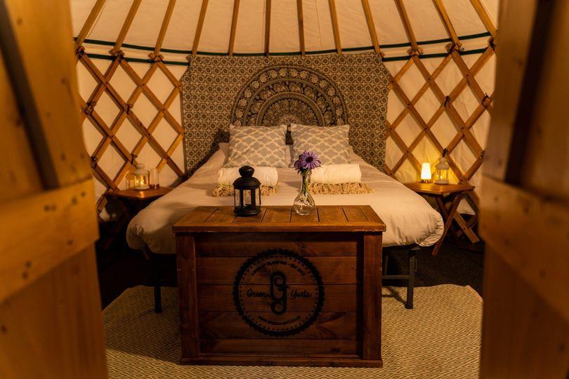 12ft deluxe yurt