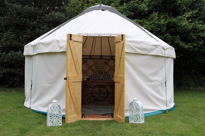Small yurts as accommodation