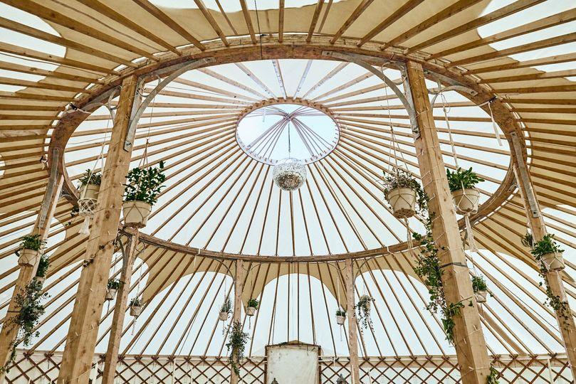 Spectacular 42ft yurt
