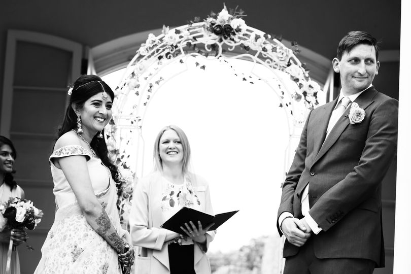 All smiles at the ceremony