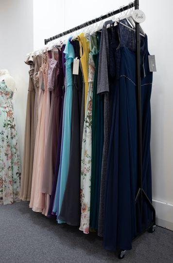 Bridesmaid dress selection