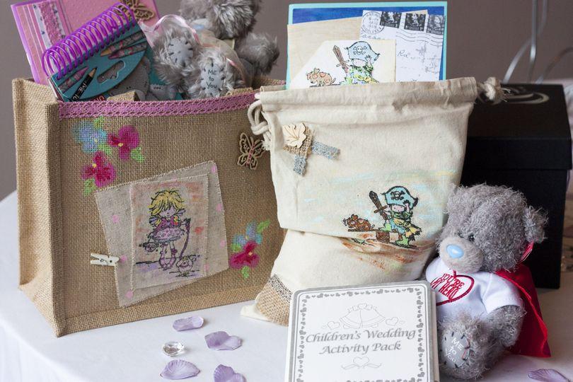 Children's activity bags