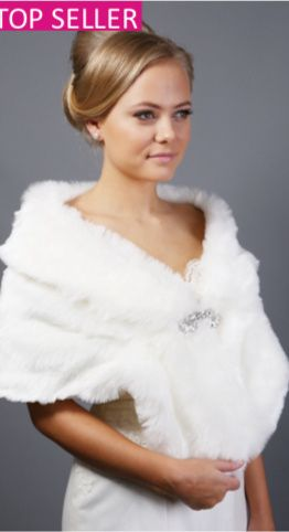 Fur and lace boleros available