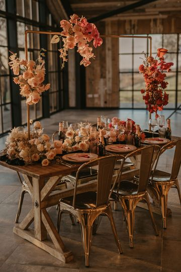 Intimate Wedding Table Styling
