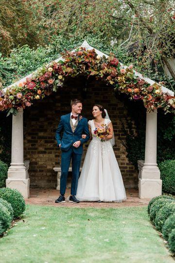 Autumnal Wedding Arch