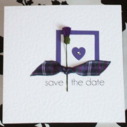 Scottish 'Save the Date'