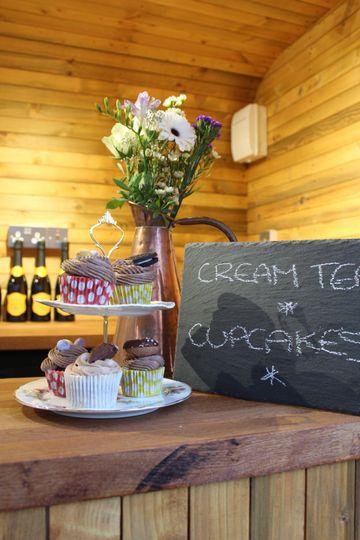 Prosecco Cream Tea Bar