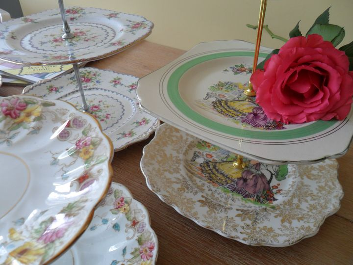 Cake stands galore