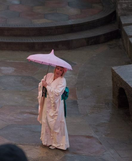 Madam Butterfly at The Minack