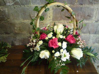 The flower girls basket