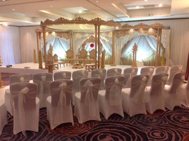 Mandap and Chairs