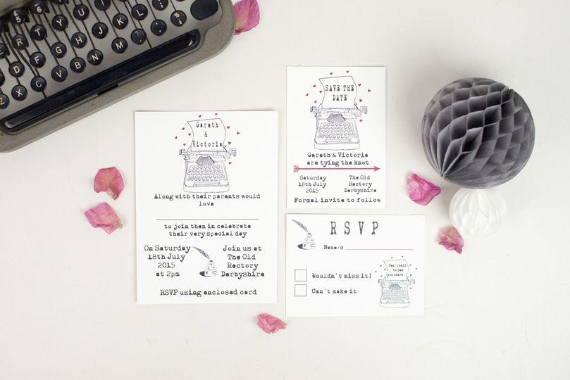 Typewriter of love