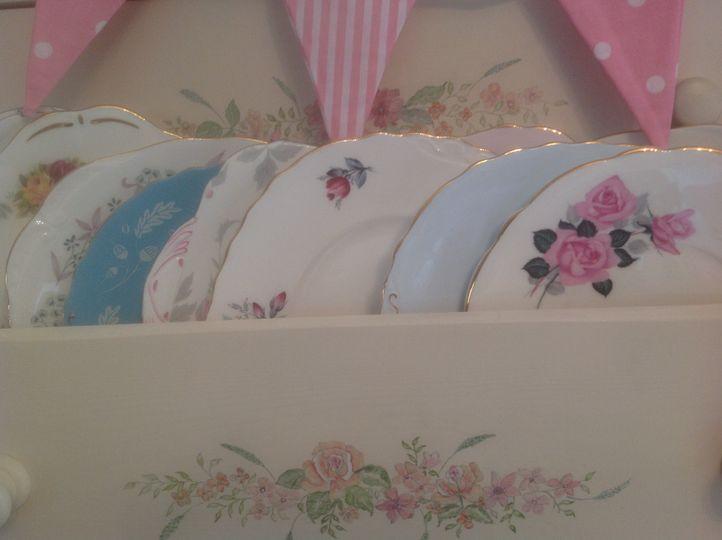 Cake or salad plates