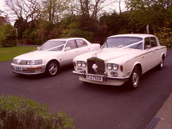 Rolls Royce and Lexus Ls