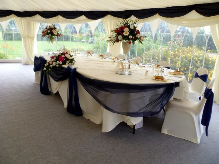 Formal Top Table