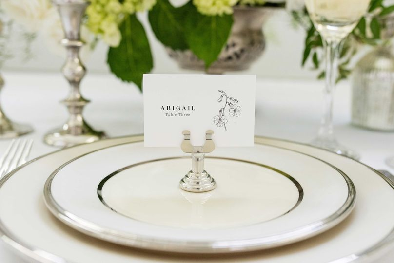Covent Garden Place Card