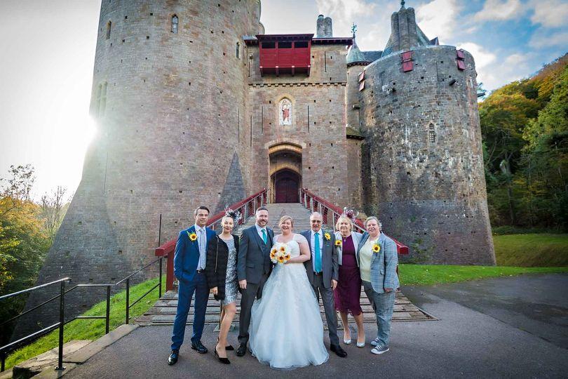 Castell Coch Wedding Portrait