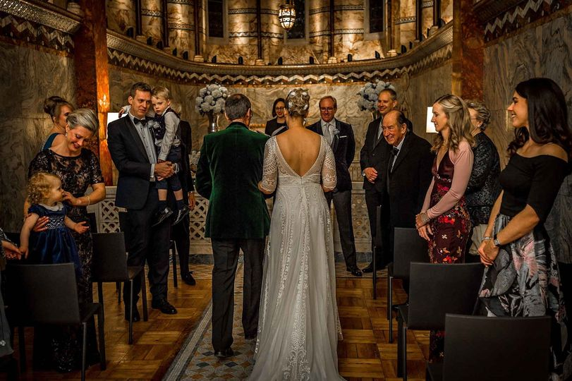 Fitzrovia Chapel Wedding - Guy Milnes Photography