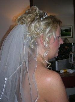 Bespoke wedding veil